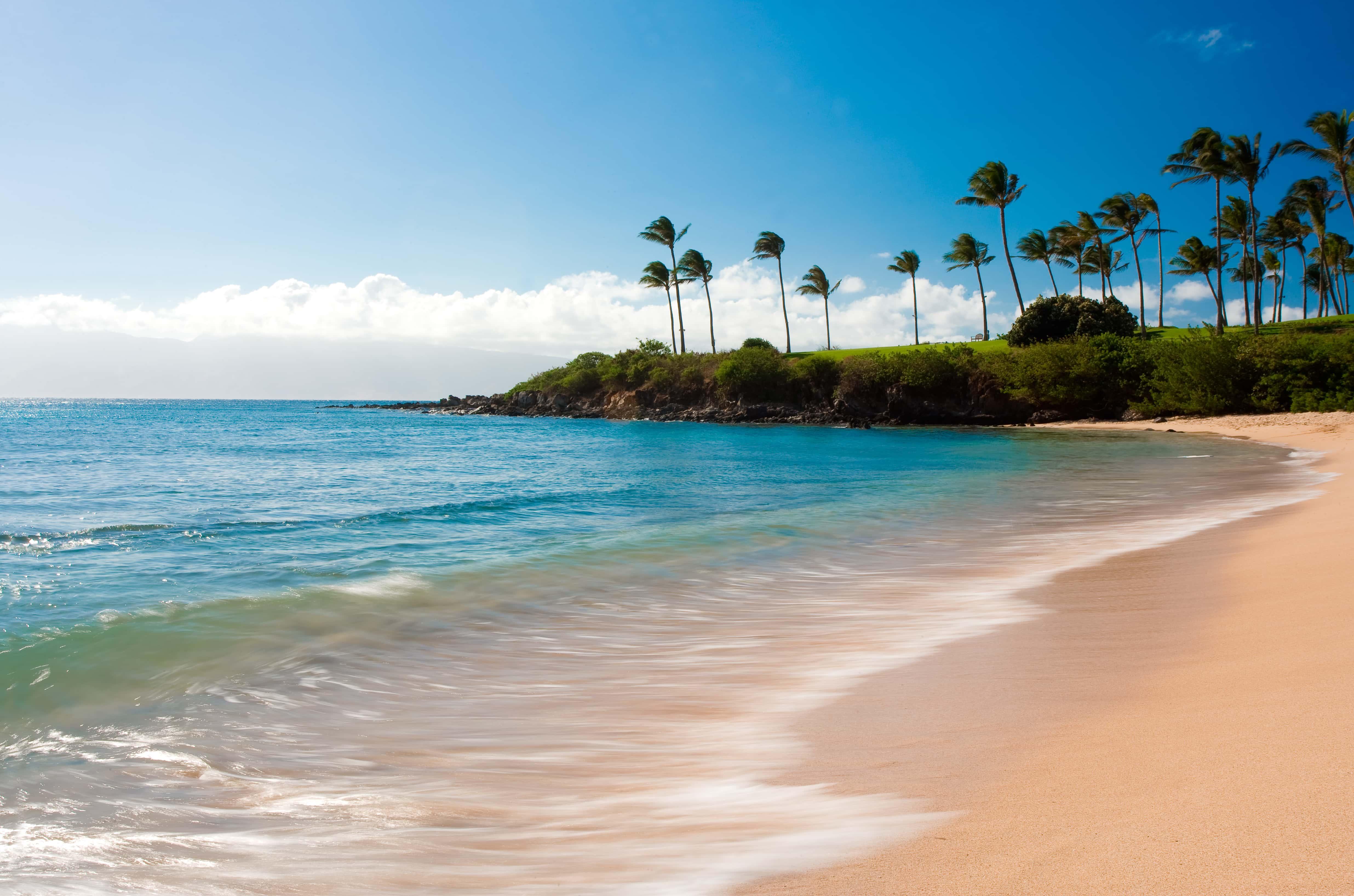 Kapalua Bay in Hawaii