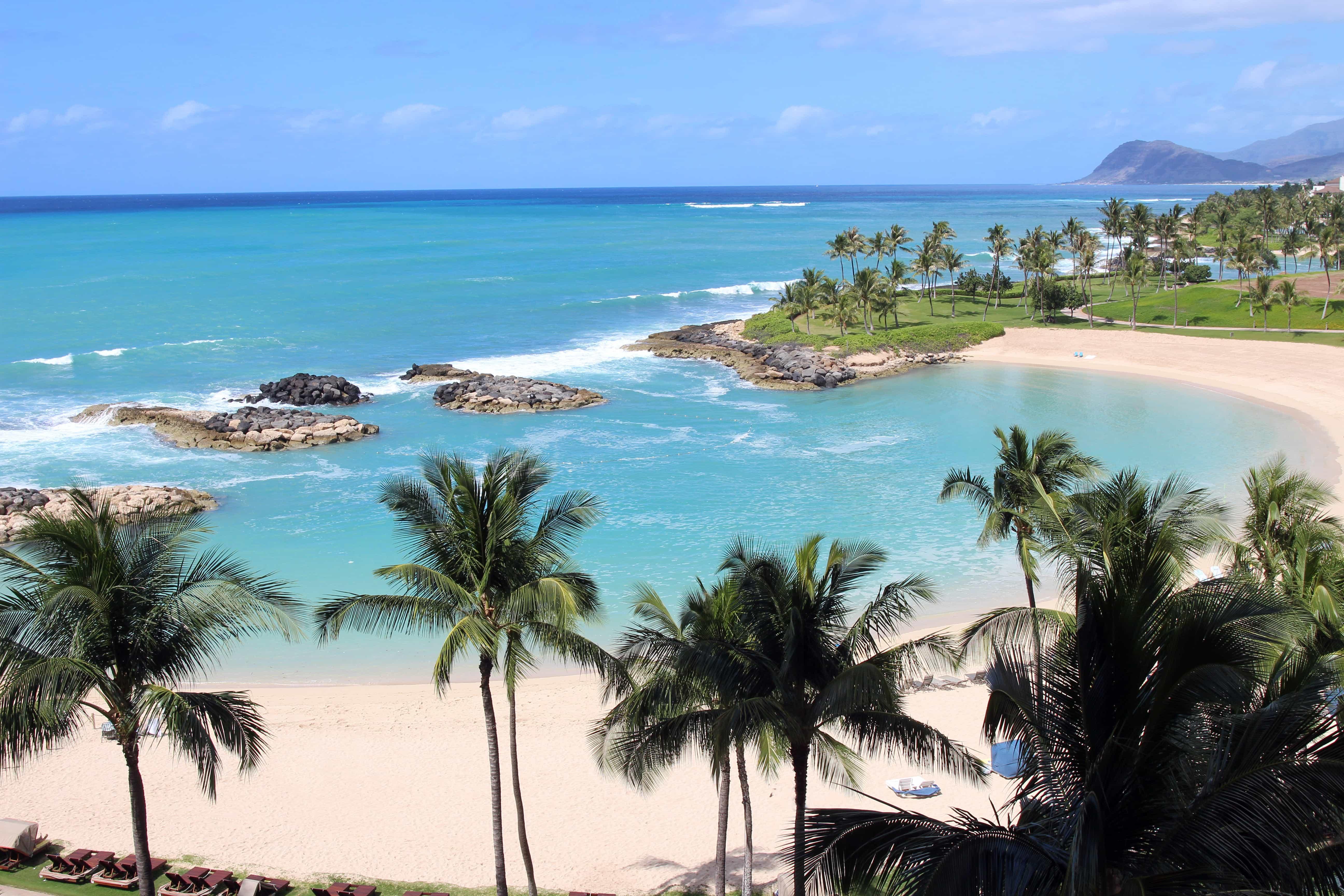 Ko Olina Beach in Hawaii