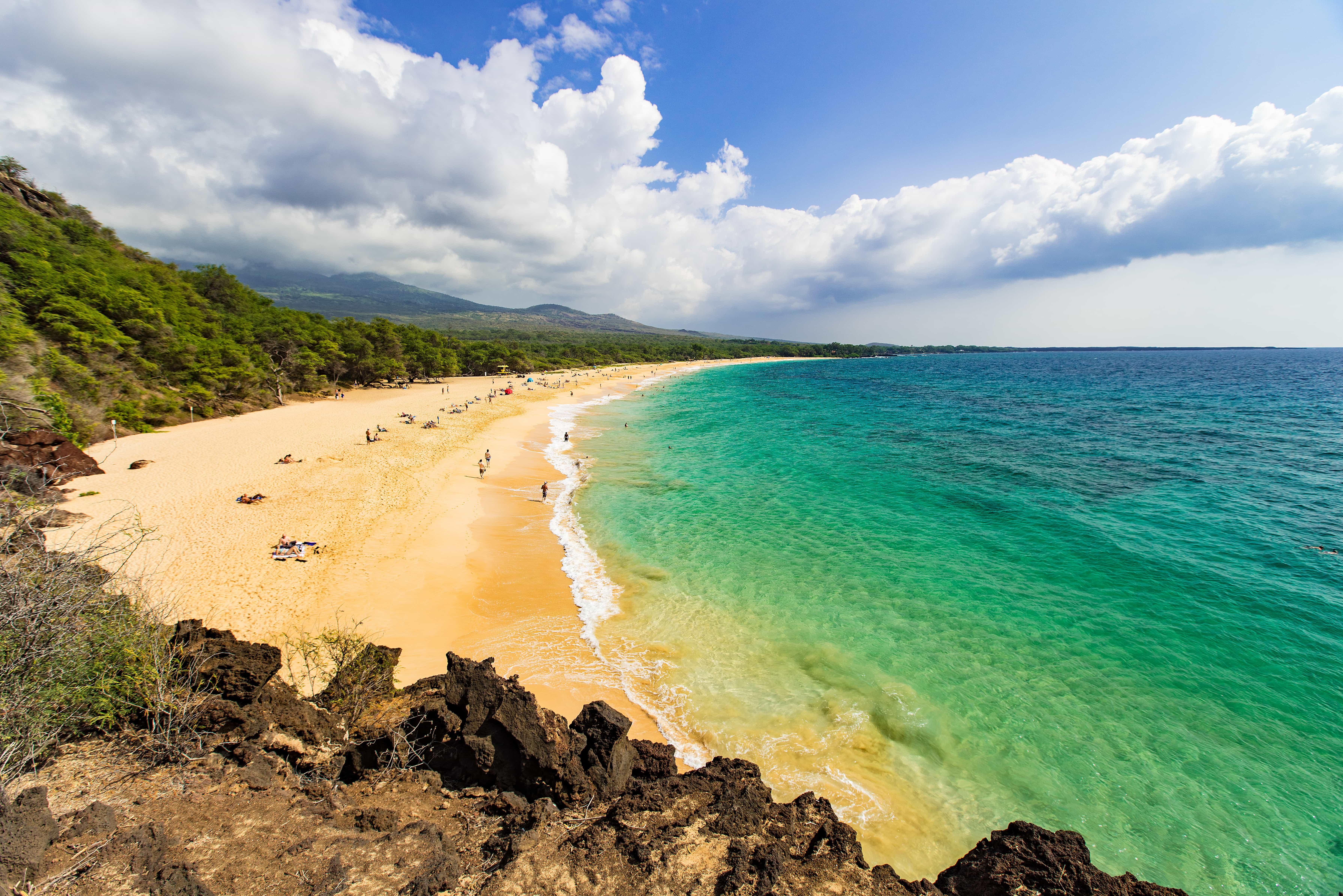 Maui Island in Hwaii