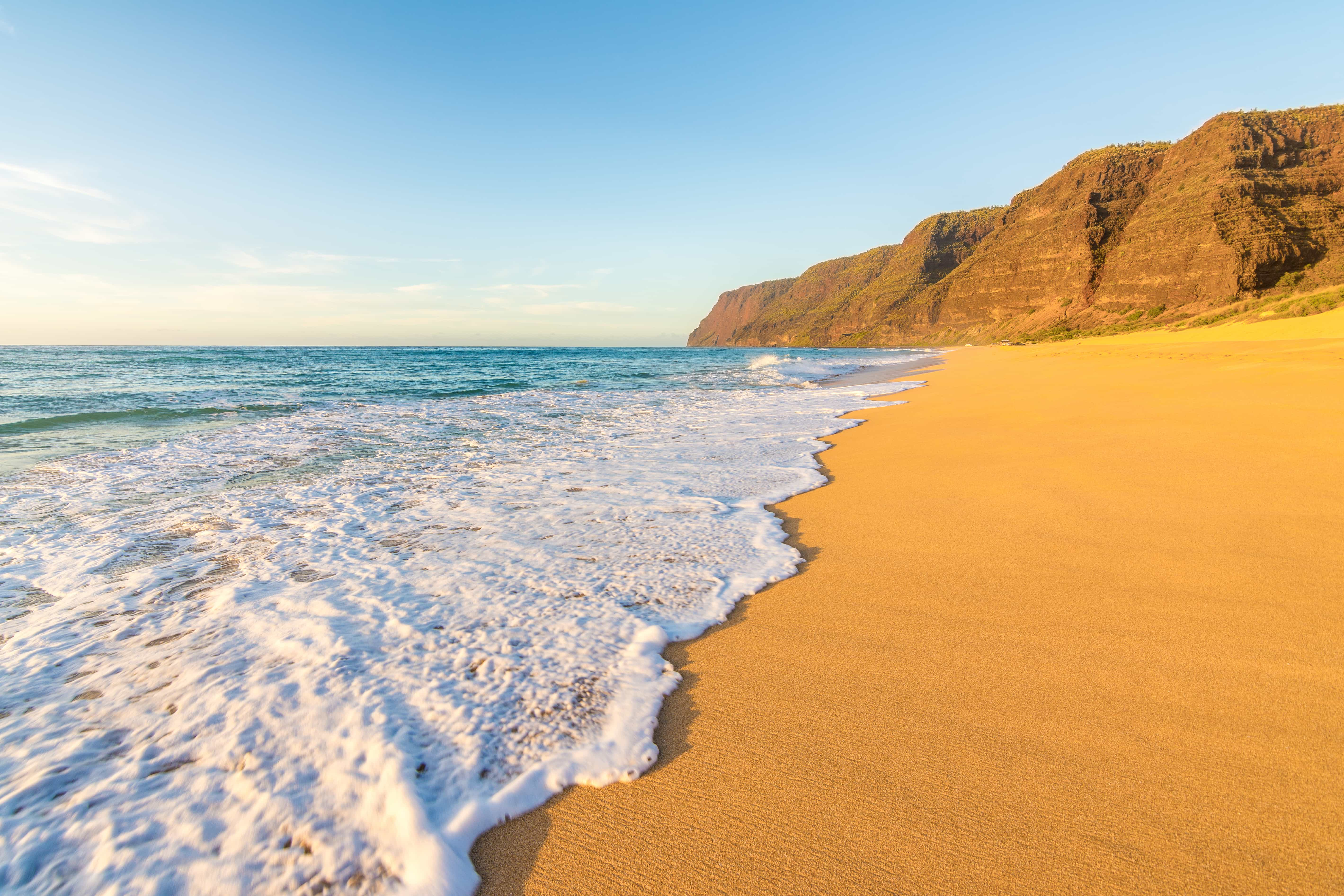 Polihale State Park in Hawaii