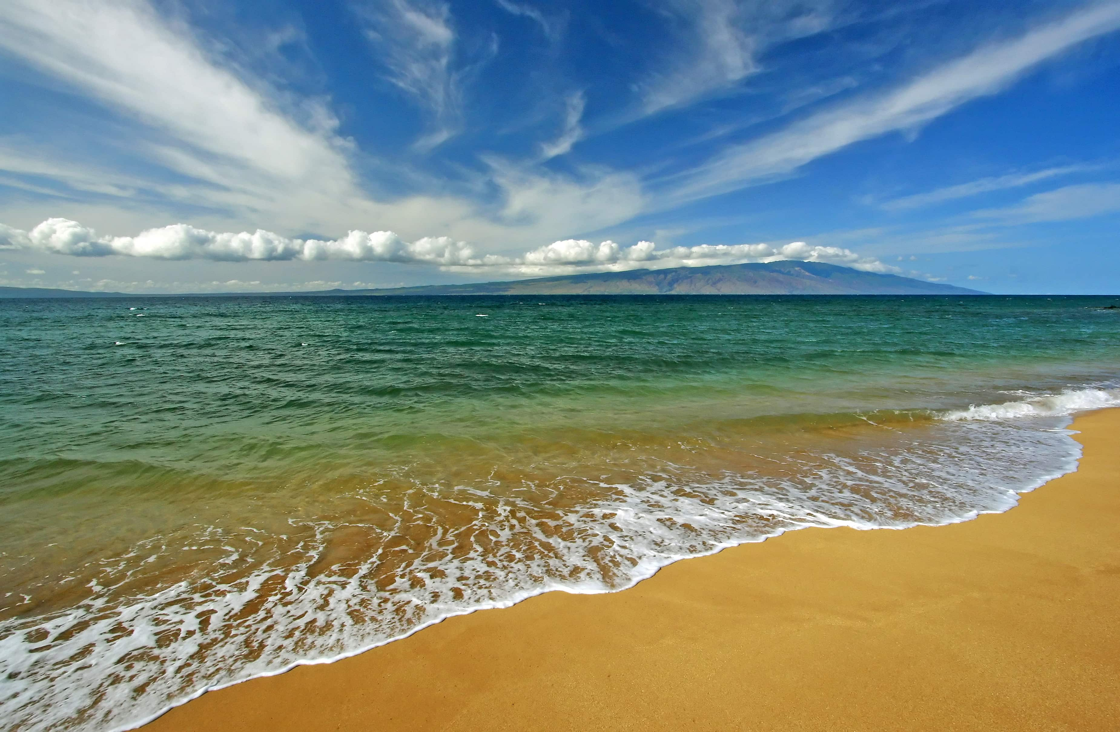 Polihua Beach in Hawaii