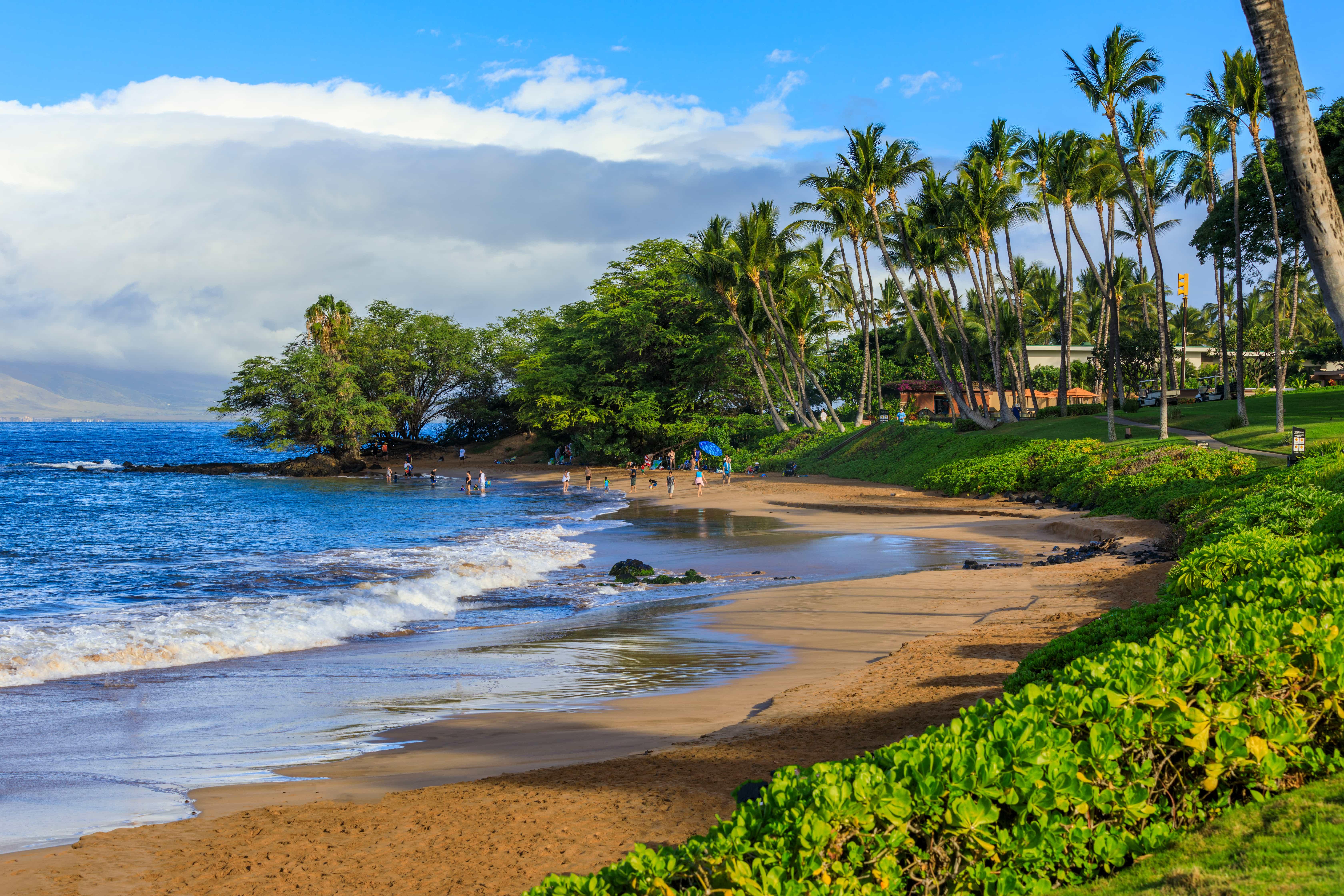 Wailea Beach in Hawaii