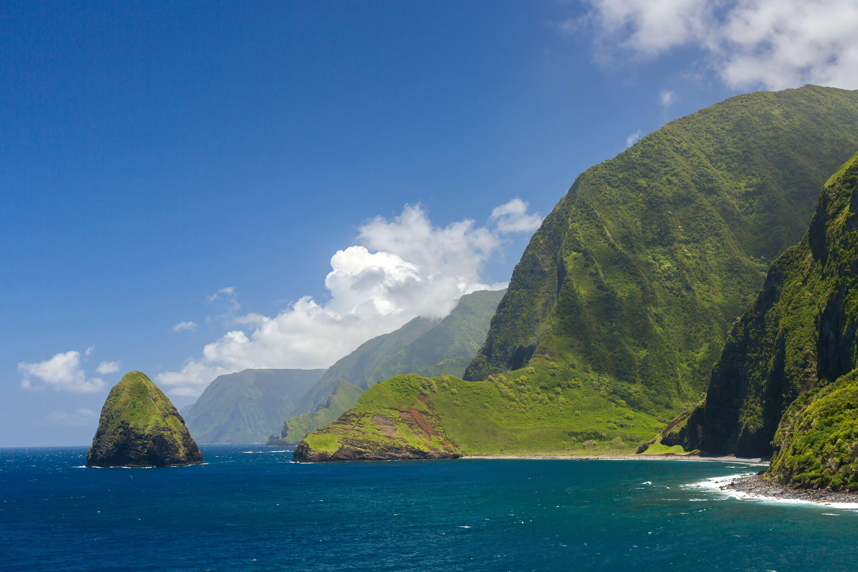 Molokai Island in Hawaii