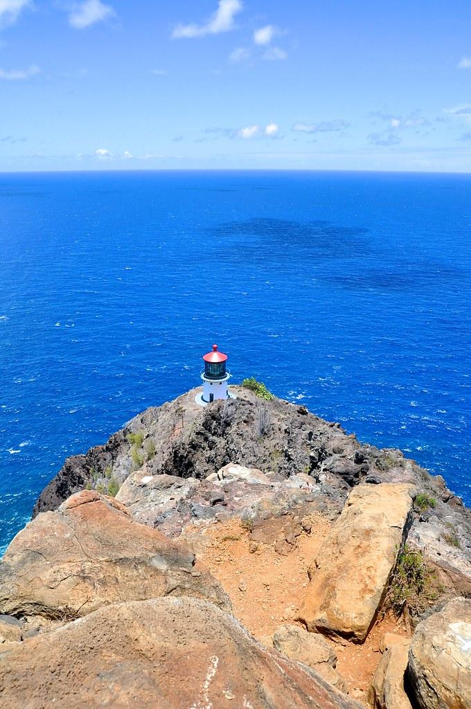 Hiking at Makapuu lighthouse