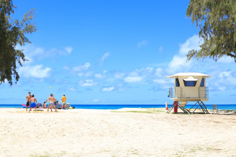 Kailua beach town