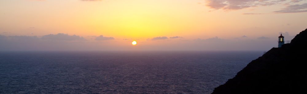 sunrise at Makapuu Lighthouse
