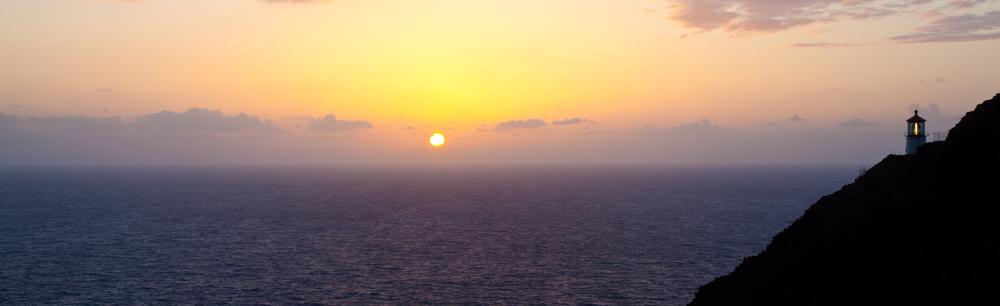 sunrise at Makapuu Lighthouse