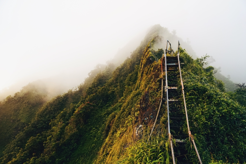 Illegal Stairway To Heaven Hike