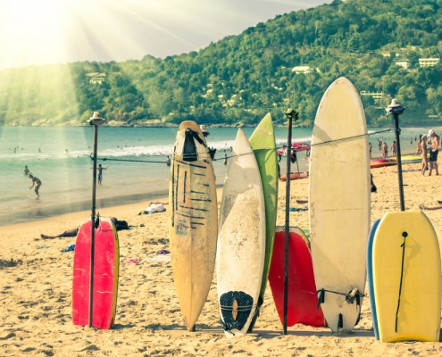 How Surfboard Dimension Affects Your Surfing?