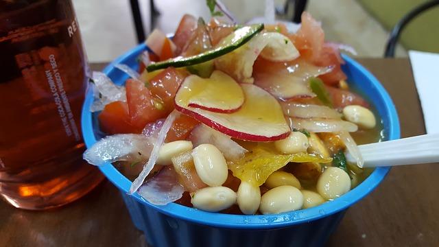 Traditional Ecuadorian food